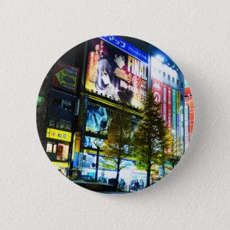 Akihabara (elektrische Stadt) in Tokyo, Japan Runder Button 5,7 Cm