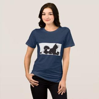 Akita-T - Shirt die MARS der Marine-Frauen