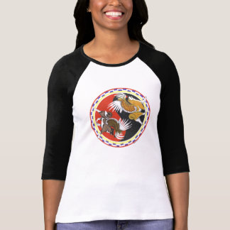 Akita Yin und Yang T-Shirt