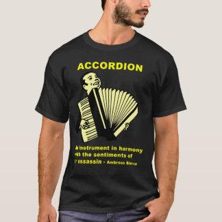 Akkordeon: Ambrose Bierce-Zitat T-Shirt
