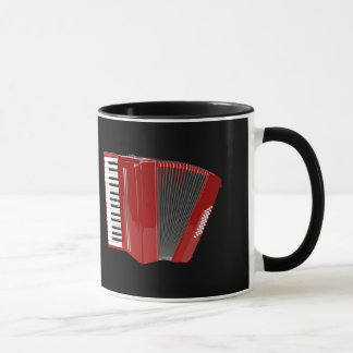 Akkordeon: Das rote Akkordeon Tasse