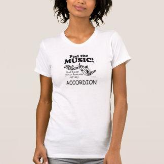 Akkordeon-Gefühl die Musik T-Shirt