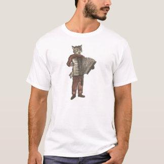 Akkordeon-Katze T-Shirt