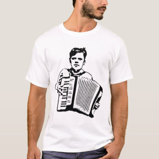Akkordeon-Kind T-Shirt