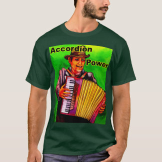 Akkordeon-Power T-Shirt