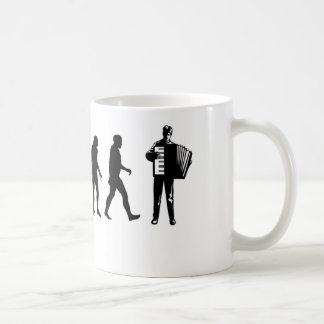 Akkordeon-Spieler Kaffeetasse