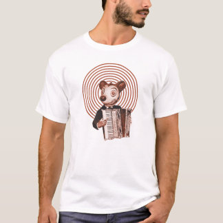 Akkordeonspieler T-Shirt