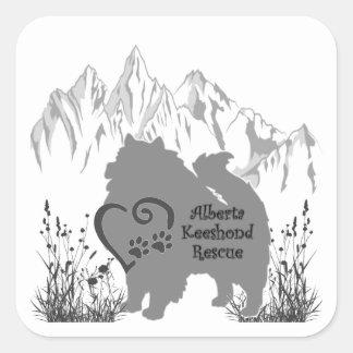 AKR Logo - Grau - Aufkleber