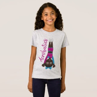 Akrobatik Acro Tänzer-stolpernder AkrobatGymnast T-Shirt