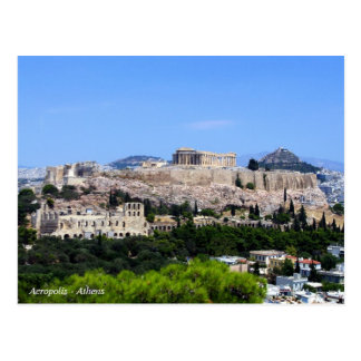 Akropolis - Athen Postkarte