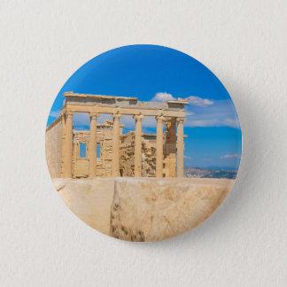 Akropolis in Athen, Griechenland Runder Button 5,1 Cm