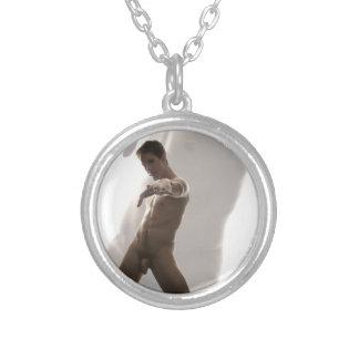 Akt der Kunst-18891-RA Halskette Mit Rundem Anhänger