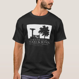 Aktien u. Bindungen (dunkel) T-Shirt
