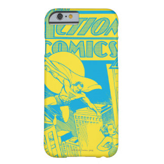 Aktions-Comic-Supermann rettet Barely There iPhone 6 Hülle