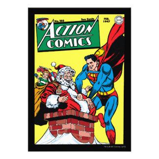 Aktions-Comicen 105 Individuelle Ankündigungen
