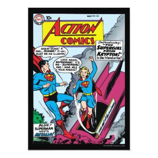Aktions-Comicen #252 12,7 X 17,8 Cm Einladungskarte