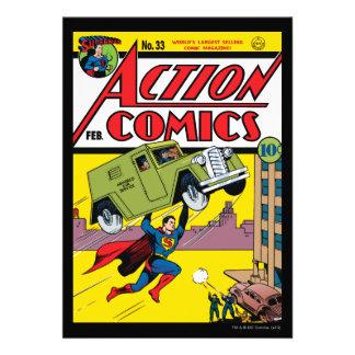 Aktions-Comicen 33 Ankündigungskarten