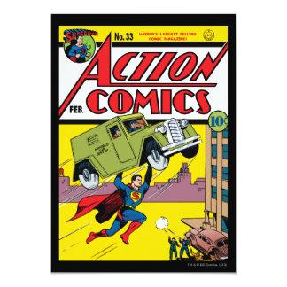 Aktions-Comicen #33 Ankündigungskarten