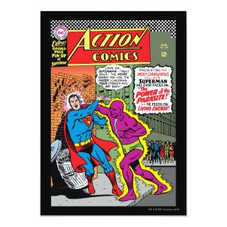 Aktions-Comicen #340 Einladungskarte