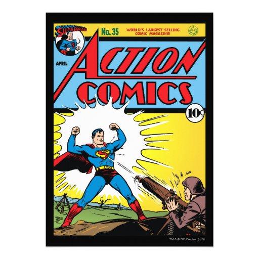Aktions-Comicen #35 Individuelle Ankündigungen
