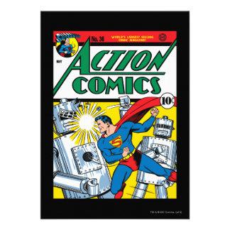 Aktions-Comicen 36 Individuelle Einladungen