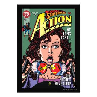 Aktions-Comicen 662 im Februar 91 Personalisierte Einladungen