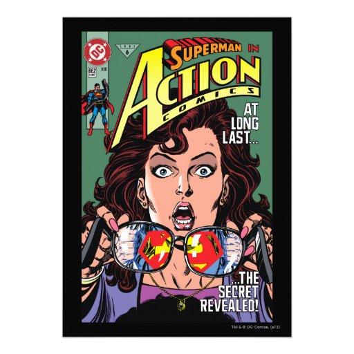 Aktions-Comicen #662 im Februar 91 Personalisierte Einladungen
