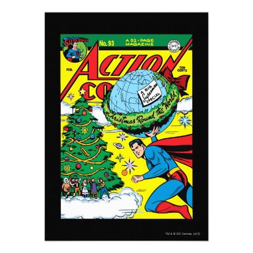 Aktions-Comicen #93 Individuelle Ankündigungskarte
