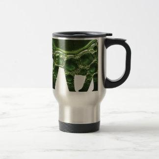 Aktive Elemente, die Elefant-Kunst frisch und Reisebecher