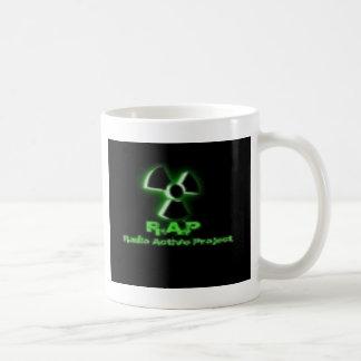 Aktive Radiokleidung u. Zusätze Kaffeetasse
