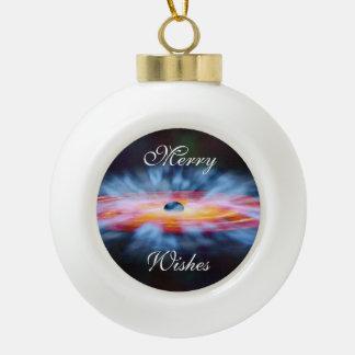 Aktiver Kern AGN NASAs Galaxie Keramik Kugel-Ornament