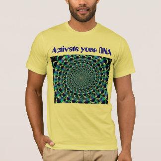 Aktivieren Sie das Shirt Ihrer DNA-Männer