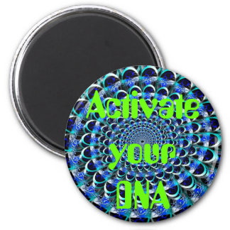Aktivieren Sie Ihren DNS-Magneten Runder Magnet 5,1 Cm