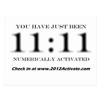 Aktivieren Sie sie numerisch!! Postkarte