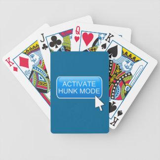 Aktivieren Sie Stückmodus Bicycle Spielkarten