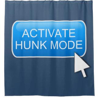 Aktivieren Sie Stückmodus Duschvorhang
