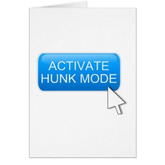 Aktivieren Sie Stückmodus Karte