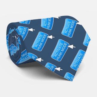 Aktivieren Sie Stückmodus Krawatte