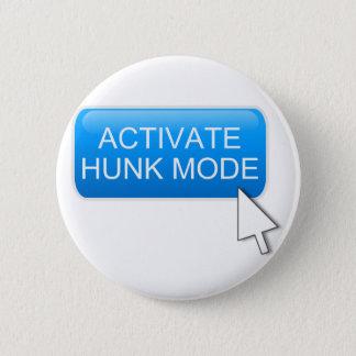 Aktivieren Sie Stückmodus Runder Button 5,1 Cm