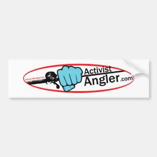 Aktivisten-Angler Autoaufkleber
