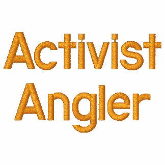 Aktivisten-Angler Besticktes Hoodie