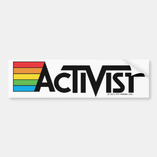 Aktivisten-Autoaufkleber