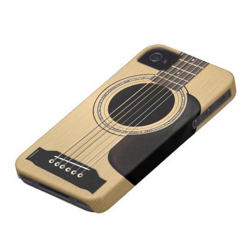 Akustikgitarre Case-Mate iPhone 4 Hülle