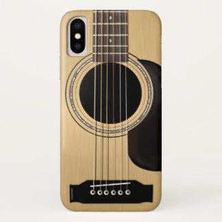 Akustikgitarre iPhone X Hülle