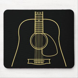 Akustikgitarre-Körper Mousepad