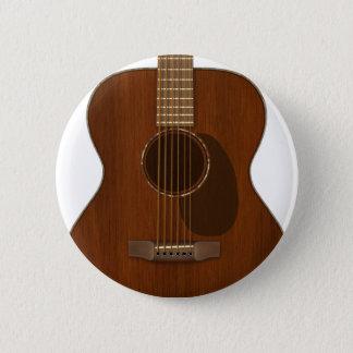 Akustikgitarre-Kunst Runder Button 5,1 Cm