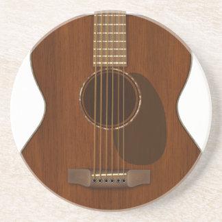 Akustikgitarre-Kunst Untersetzer