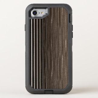 Akustikgitarre reiht Handy auf OtterBox Defender iPhone 8/7 Hülle