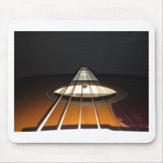 Akustikgitarre-Schnüre Mousepad