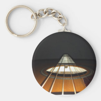 Akustikgitarre-Schnüre Schlüsselanhänger